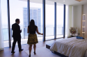 Lucas Lechuga and Adriana Brito tour Upper Penthouse 06 at Brickell Flatiron