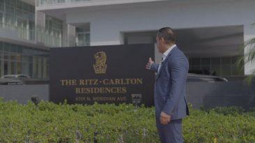 Lucas Lechuga at The Ritz-Carlton Residences Miami Beach