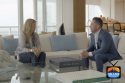 Dora Puig with Lucas Lechuga on Miami Real Estate TV