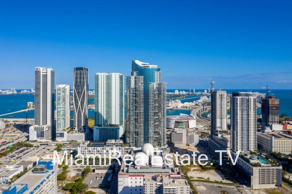 Park West Miami skyline
