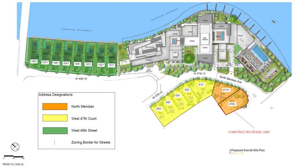 project site plan of The Ritz-Carlton Residences Miami Beach