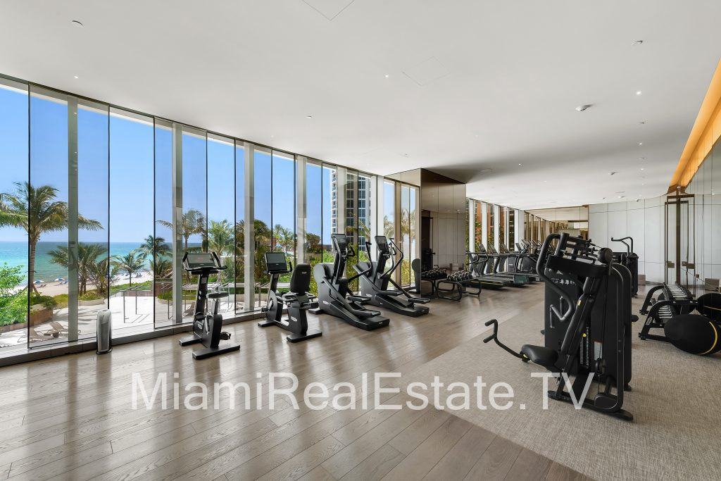 Fitness Center with Views of the Atlantic Ocean