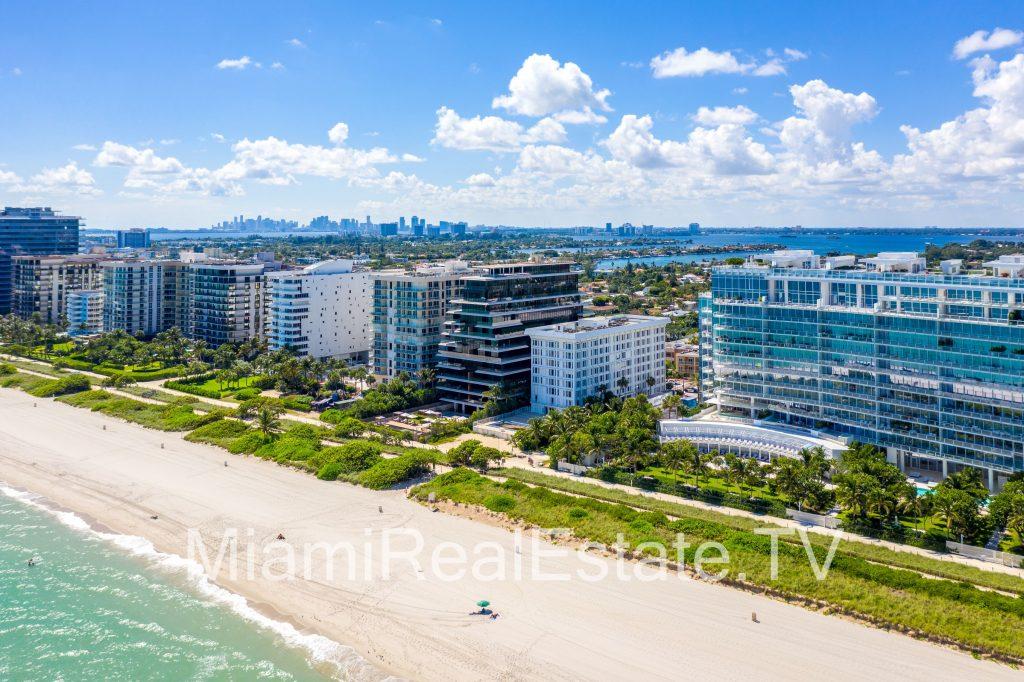 Surfside Florida skyline