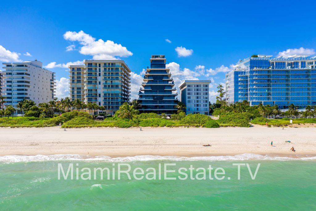 Arte oceanfront condominium in Surfside